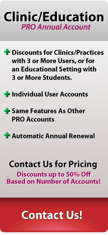 Clinic or Education Annual Account