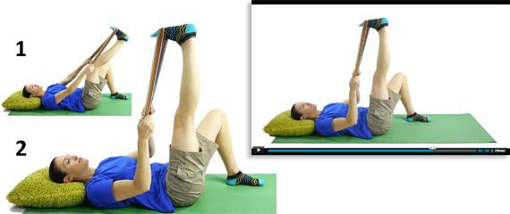 Simple photo and video demos for every exercise